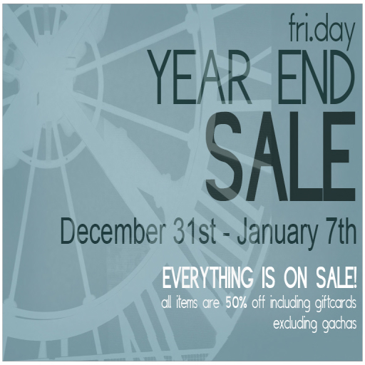 fri.day Year End Sale!